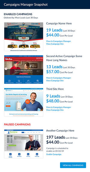 mySD-Dashboard-CampaignsManagerSnapshot